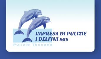 Impresa di pulizie I Delfini logo footer